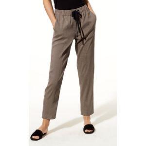 Aritzia Babaton Day Errol linen crop pants S